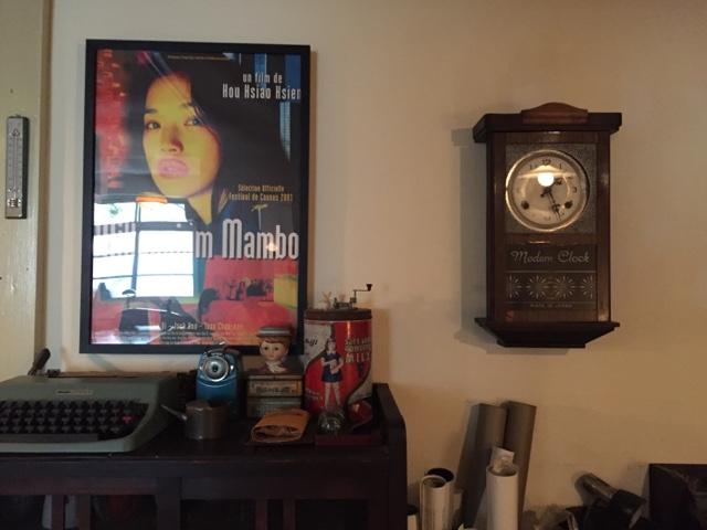 台湾の音楽や映画が素敵なカフェ